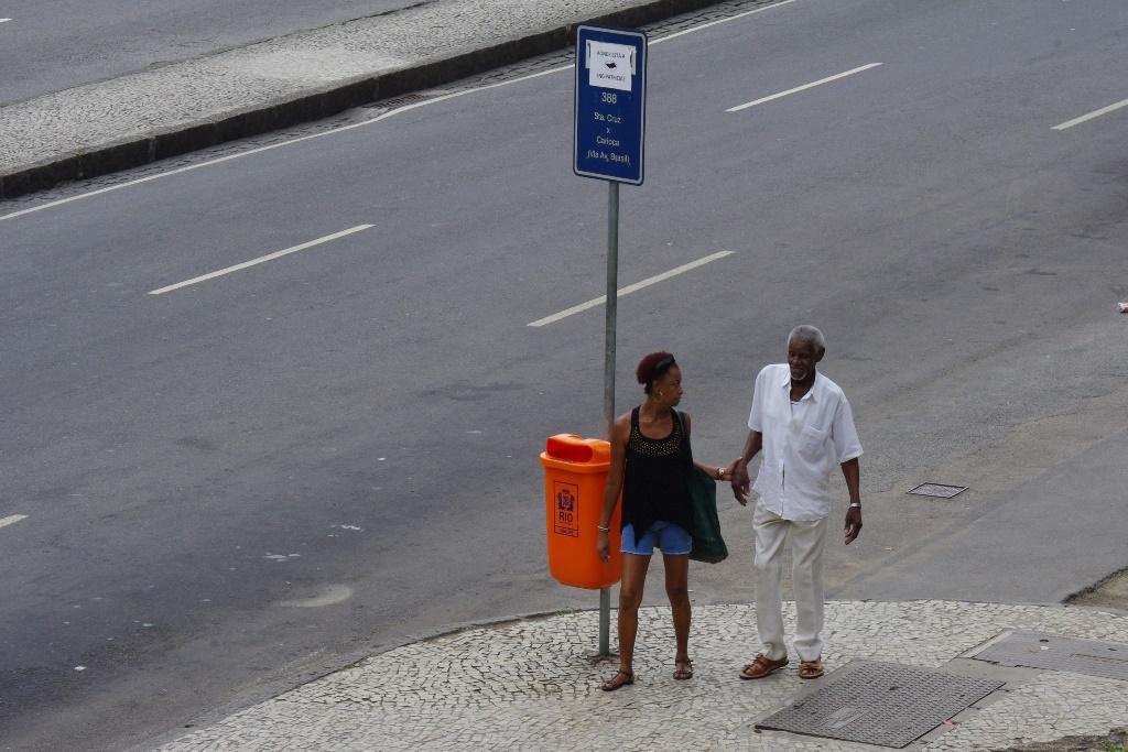 Straßenszene in Rio